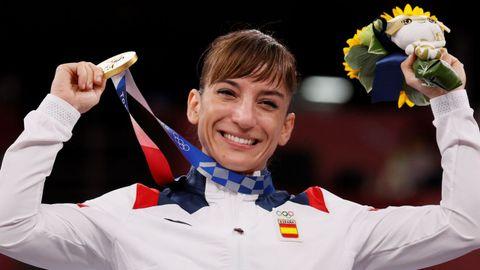 Sandra Sánchez se lleva el oro el kárate