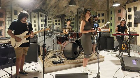 Sound Sisters se conocieron en la asociación Rúa da Música y ahí es donde ensayan