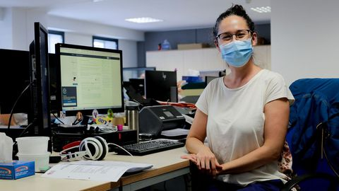Victoria Suárez Ulloa, bioinformática del Instituto de Investigación Biomédica de A Coruña (Chuac)