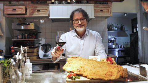 Pablo Otero cocina en la Terracinha del NH este martes