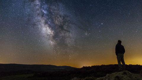 Cielo estrellado en Pena Trevinca (A Veiga)