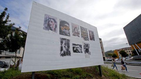 Kaldarte 2021. Obra de Estefanía Alonso en A Tafona