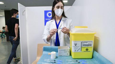 Durante esta semana continuó la vacunación masiva en Lugo