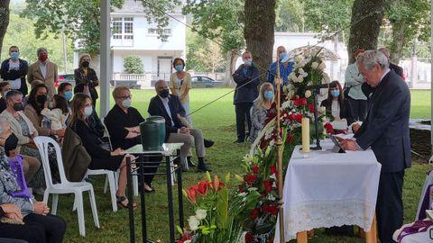 Misa campestre en Mosteiro en recuerdo de José Ramón Ónega