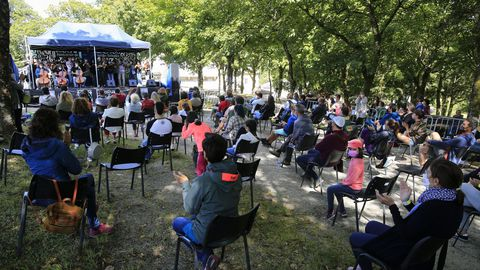 El Festival de Pardiñas se celebró por segundo año consecutivo en Parga