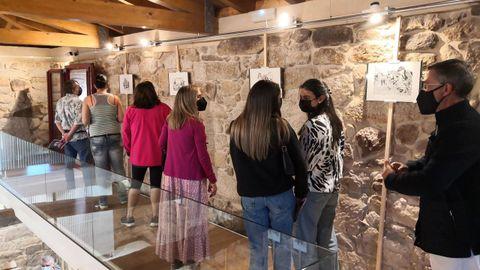 Exposición de Manuel Traveso en Sandiás