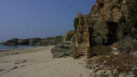 Imagen de archivo de la playa de Illas, en Ribadeo