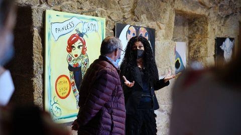 Exposición de Tareixa Taboada en Celanova