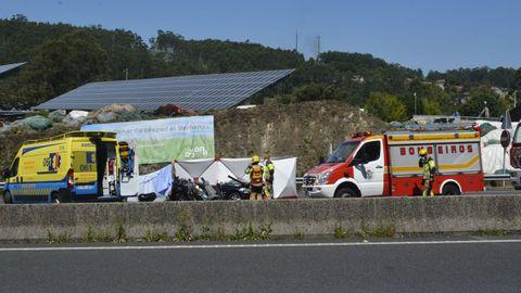 La autovía de Barbanza fue escenario, el pasado mes de julio, de uno de los cinco accidentes mortales registrados en la comarca en lo que va de año