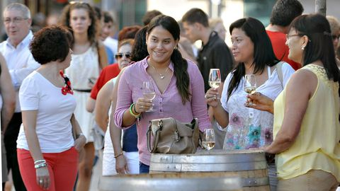 Imagen de una edición pasada de la Feira de Monterrei