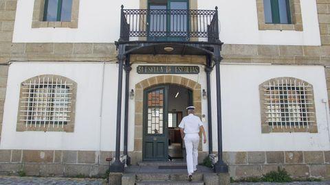 Sede de la 31. ª Escuadrilla en el Arsenal de Ferrol