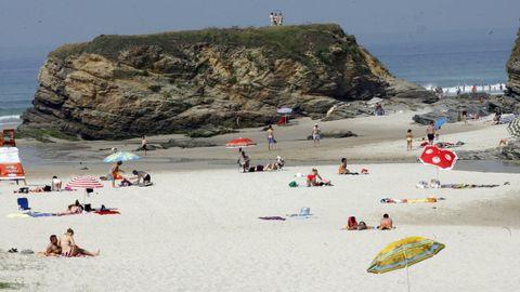 Imagen de archivo de la playa de Fontela, en Barreiros