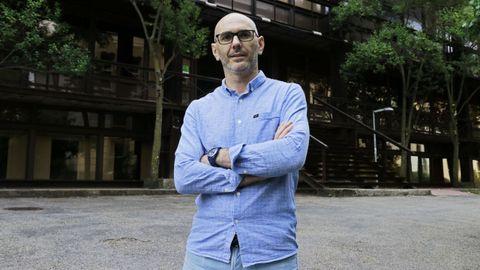Ángel Domínguez, profesor de Historia del Arte del campus de Ourense