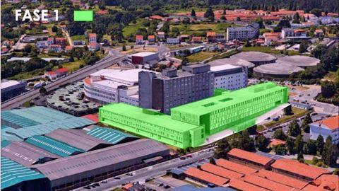 Primera fase del Plan Director para el hospital de Ferrol