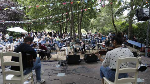 Concierto en Vilar de Santos, organizado por A Arca da Noe