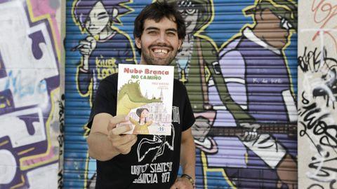 «Nube Branca no camiño» é a última publicación de Pablo Nogueira.