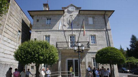 Casa consistorial de Leiro