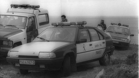 Imagen de archivo de la Guardia Civil tomada en 1993 en el entorno de Camariñas