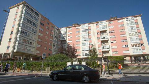 Edificios en Ramón Ferreiro, que era de las zonas más caras para comprar un piso en 1986