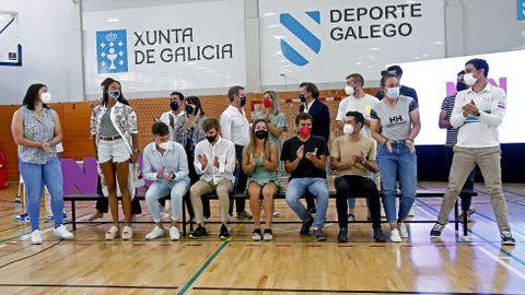 Feijóo felicita a los gallegos olímpicos