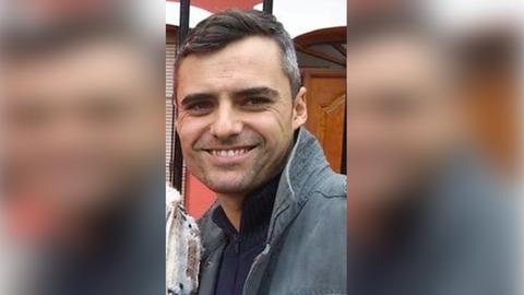 Germán Chans es agente de la Policía Nacional y está destinado en Valencia