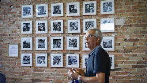 En la feria de alfarería de Xunqueira de Espadanedo puede visitarse una exposición de fotografías de José Suárez