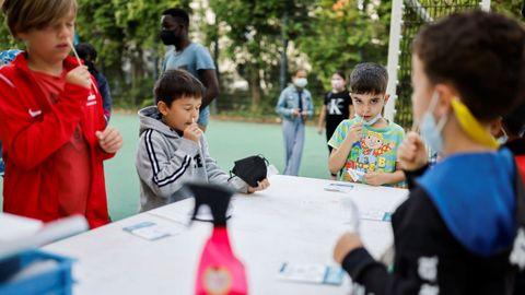En Berlín se generalizan los test rápidos para entrar en el colegio en este inicio de curso