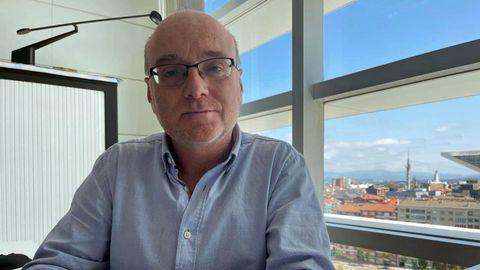 Miguel Ángel Prieto, jefe de Alertas y Emergencias Sanitarias Covid-19 en Asturias