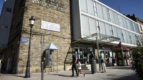 El centro de salud Virxe Peregrina, en Pontevedra