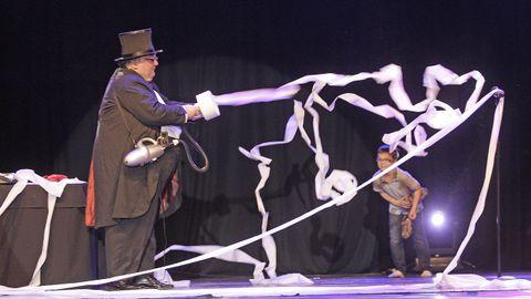 El mago Kayto será uno de los encargados de hacer reír a los más pequeños