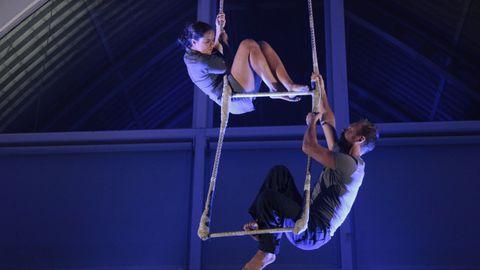 Meira podrá disfrutar de un espectáculo de acrobacias aéreas con la compañía Desastronauts