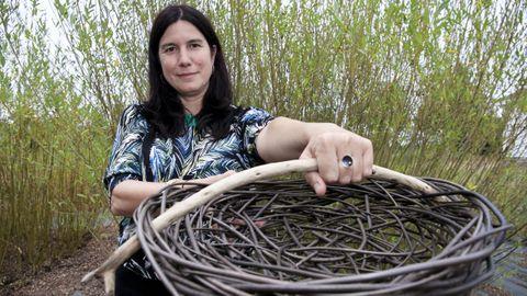 El trabajo de Idoia Cuesta fue reconocido con un premio nacional de artesanía