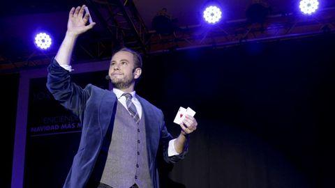 Jorge Blass será uno de los magos participantes en la gala final del Festival Internacional de Maxia Vila de Sarria