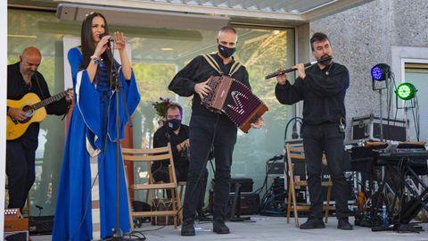 Luar na Lubre acercará la música a Portomarín