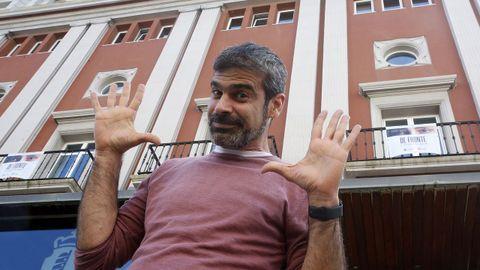 Oswaldo Digón buscará las risas de los vecinos y vecinas de Begonte