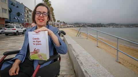 Laura Novelle, escritora de O Carballiño afincada en A Pobra