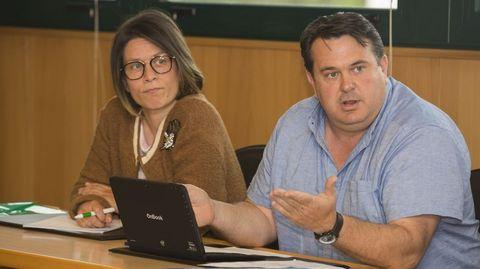 A la derecha, García Cotelo