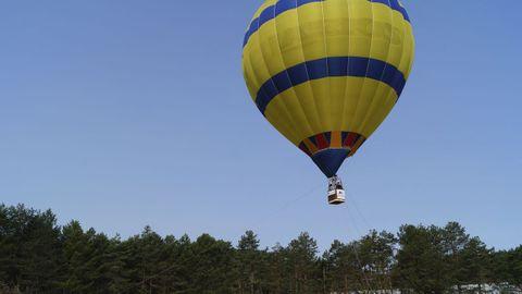 Las subidas en globo comenzaron este sábado en Manzaneda