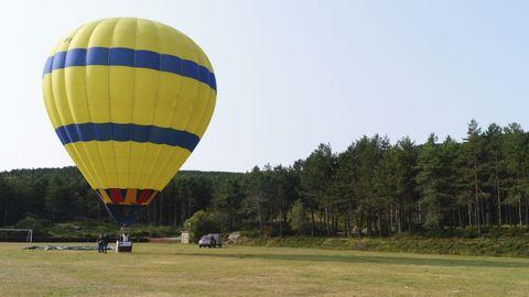 Las subidas en globo comenzaron este fin de semana en Manzaneda