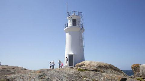 Faro de la Punta da Barca, en Muxía