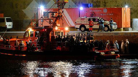 Foto de archivo. En la imagen otro rescate que tuvo lugar el 12 de agosto en Fuerteventura