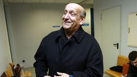 Telmo Rodríguez en la Audiencia en 2012, en un juicio por narcotráfico