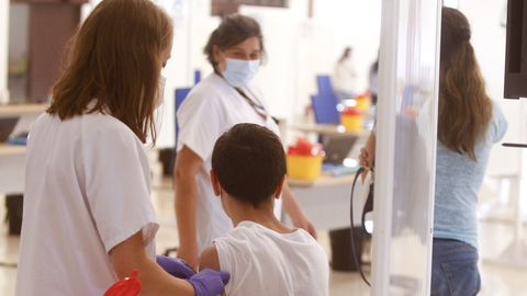 La administración de vacunas en las instalaciones de FIMO continuará lo largo de esta semana
