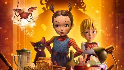 Fotograma de la película  Earwig y la bruja