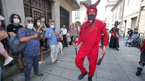 Fiesta do Demo en Pontevedra