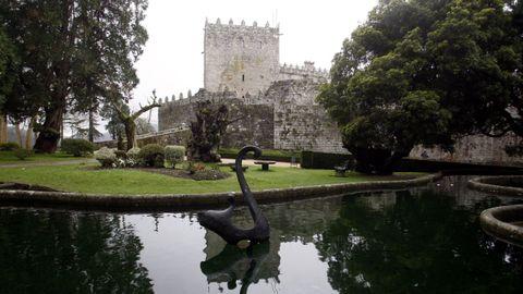 Jardines del castillo de Soutomaior.