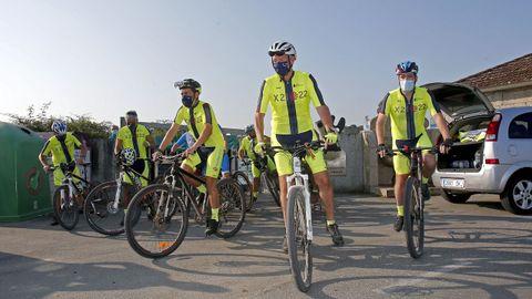 El vicepresidente de la Xunta, Alfonso Rueda, realiza el Camino Portugués de la Costa.