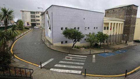 Vista del IES Basanta Silva, incluido en la Ciudad Cultural, que lleva el nombre de Manuel Fraga