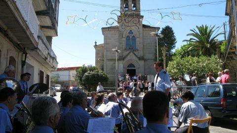 Foto de archivo de las Festas de San Vitorio de Maside