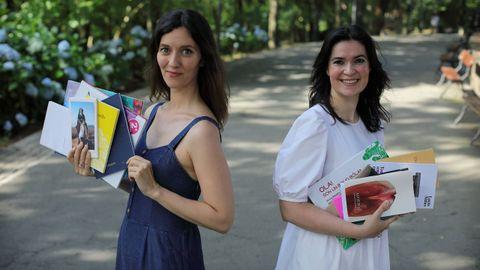 Antía Otero y Dores Tembrás son las editoras de la gallega Apiario